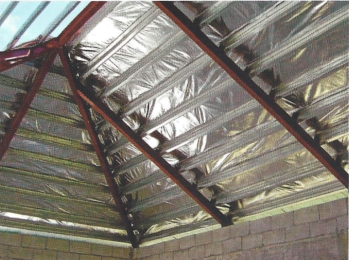 Radiant Barrier Foil Heat Insulation Roof It