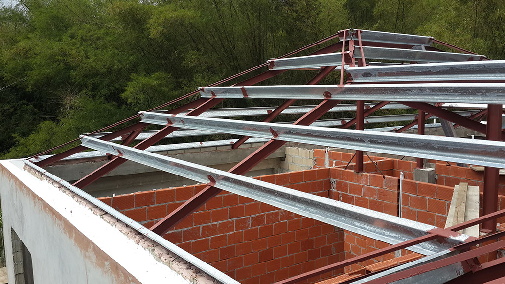 Structural Steel Roof Framing Service - Roof - It