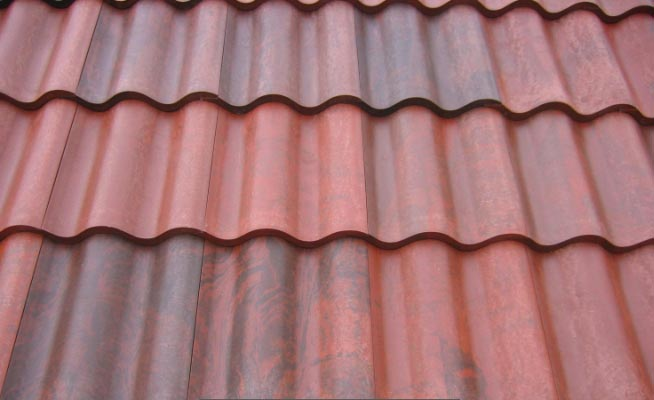 Roof It Products Colour Chart